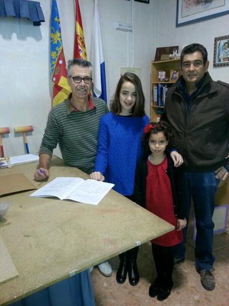 firma contrato infantil