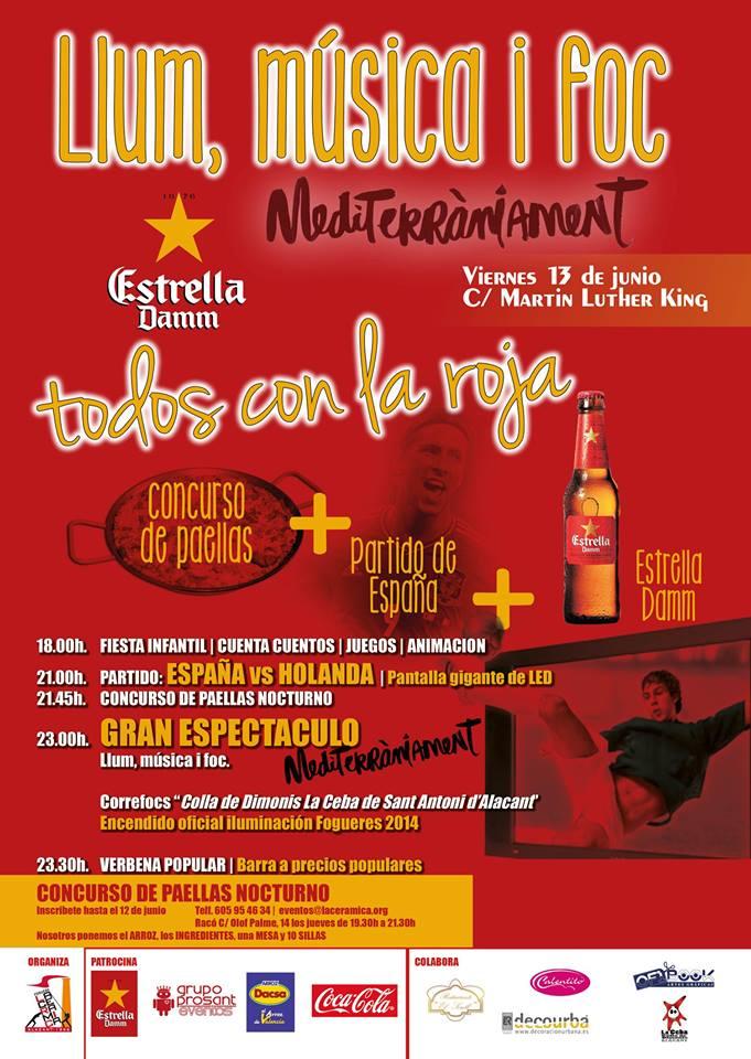 cartel fiesta dia 13