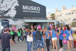 Visita Volvo Ocean Race Infantiles-Juveniles 2014